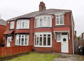 Thumbnail 3 bedroom semi-detached house for sale in Lansdowne Road, Longlands, Middlesbrough