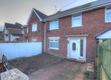 Thumbnail 3 bed semi-detached house to rent in York Road, Blackhill, Consett