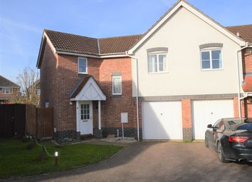 Thumbnail 3 bed semi-detached house for sale in Burnt House Close, Haverhill