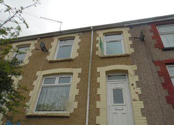 Thumbnail 3 bed terraced house to rent in Bryntaf, Aberfan, Merthyr Tydfil