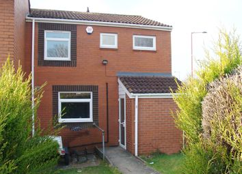 Thumbnail 2 bed end terrace house for sale in Bute Close, Rubery