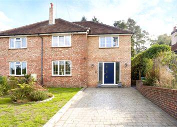 Thumbnail 4 bed semi-detached house for sale in Upper Bourne Lane, Wrecclesham, Farnham, Surrey