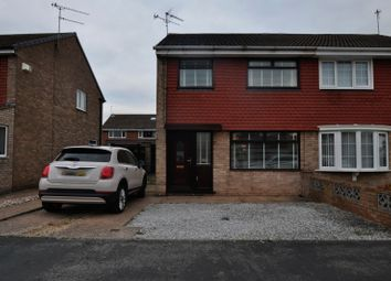 Thumbnail 3 bedroom semi-detached house for sale in Cullen Close, Hull