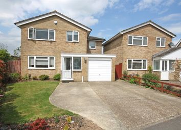 Thumbnail 4 bed detached house for sale in Arne Grove, Horley, Surrey