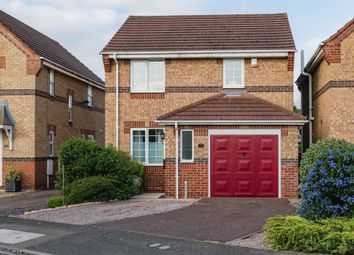 Thumbnail 3 bed detached house for sale in Lady Margarets Avenue, Deeping St. James, Peterborough