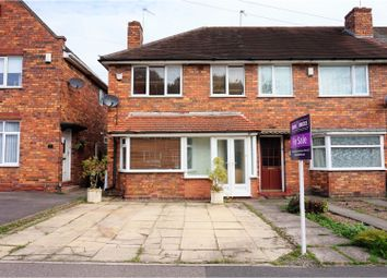 Thumbnail 3 bed end terrace house for sale in Tideswell Road, Birmingham