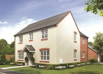 "Thumbnail 4 bed detached house for sale in ""The Ludlow"" at Lyne Hill Lane, Penkridge, Stafford"