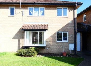 Thumbnail 2 bed semi-detached house to rent in Odell Close, Kempston, Bedford