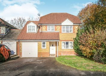 Thumbnail 4 bedroom detached house for sale in Farrier Close, Ashford