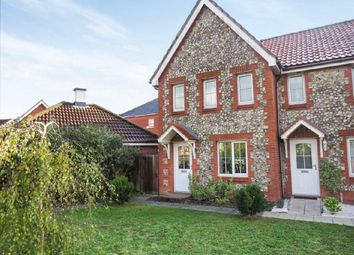 Thumbnail 3 bed end terrace house for sale in Mallow Road, Thetford