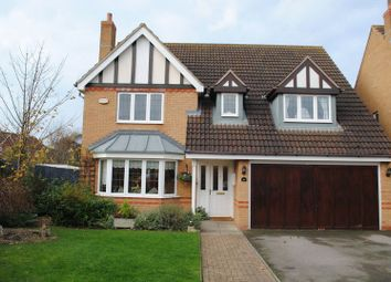 Thumbnail 4 bedroom detached house for sale in Greenacre Drive, Rushden