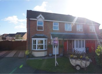 Thumbnail 3 bed semi-detached house for sale in Aspen Avenue, Loughborough
