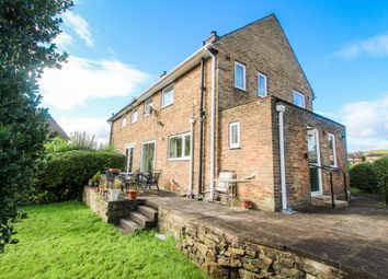 Thumbnail 3 bed semi-detached house for sale in Leas Avenue, Netherthong, Holmfirth