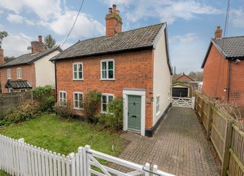 Thumbnail 3 bed cottage for sale in Lion Road, Palgrave, Diss