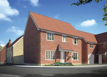 "Thumbnail 4 bed detached house for sale in ""The Lulworth "" at Carsons Drive, Great Cornard, Sudbury"