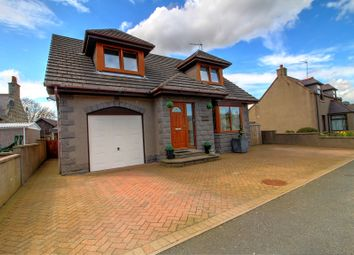 Thumbnail 3 bed detached house for sale in Station Road, Longside, Peterhead