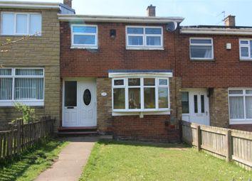 Thumbnail 3 bed terraced house for sale in Kingsclere Avenue, Sunderland