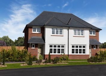 Thumbnail 3 bedroom semi-detached house for sale in Weston Grove, New Road, Weston Turville, Aylesbury