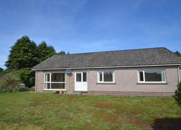 Thumbnail 3 bed detached bungalow to rent in Lochty Council Houses, Brechin