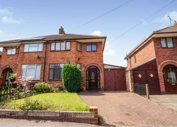 Thumbnail 3 bed semi-detached house for sale in Bellairs Avenue, Bedworth