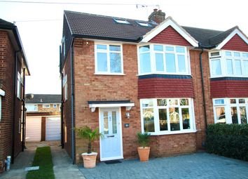 4 bed semi-detached house for sale in Gaston Way, Shepperton TW17