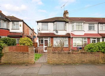 Thumbnail 3 bed end terrace house for sale in Woodhouse Avenue, Perivale, Greenford
