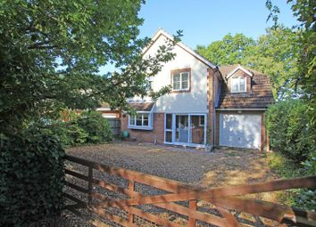 Thumbnail 4 bed detached house for sale in School Road, West Wellow, Romsey