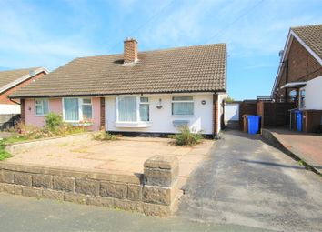 Thumbnail 2 bed semi-detached bungalow for sale in Marlborough Crescent, Stapenhill, Burton-On-Trent