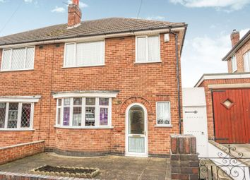 Thumbnail 3 bed semi-detached house for sale in Babingley Drive, Leicester