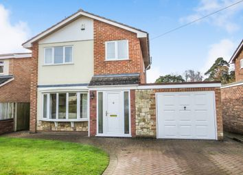 Thumbnail 3 bed detached house for sale in Bellomonte Crescent, Drayton, Norwich