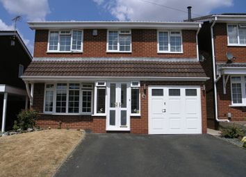 Thumbnail 4 bed detached house for sale in County Park Avenue, Halesowen