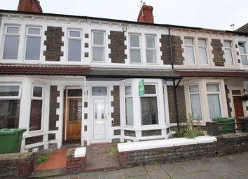 Thumbnail 2 bed terraced house for sale in Brithdir Street, Heath, Cardiff