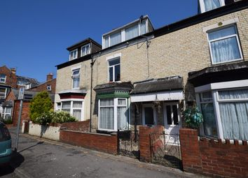 Thumbnail 4 bed terraced house to rent in Haslemere Avenue, Bridlington