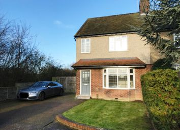 Thumbnail 3 bed semi-detached house to rent in Northaw Road East, Cuffley, Potters Bar