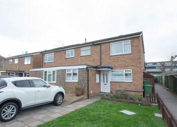 Thumbnail 3 bed end terrace house for sale in Willard Close, Eastbourne