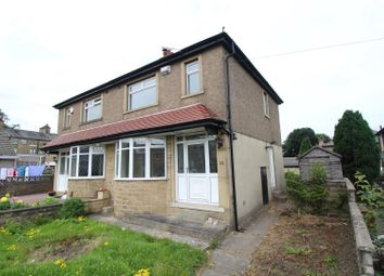 Thumbnail 3 bed semi-detached house to rent in Hollybank Road, Great Horton, Bradford