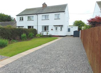 Thumbnail 3 bed semi-detached house for sale in 5 Croftlands, Torpenhow, Wigton, Cumbria