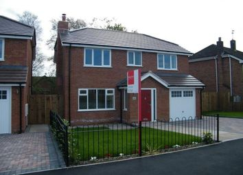 Thumbnail 4 bed detached house for sale in Spinney Drive, Weston, Crewe, Cheshire