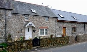 Thumbnail 2 bed terraced house to rent in Sageston, Tenby