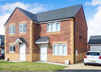 Thumbnail 2 bed semi-detached house for sale in Douglass Close, Hebburn