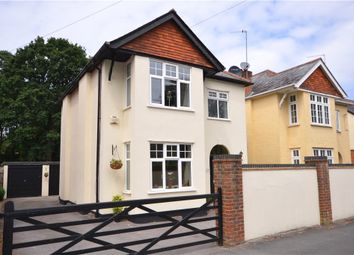 Thumbnail 4 bed detached house for sale in Gordon Road, Camberley, Surrey