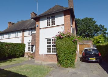 Thumbnail 5 bed semi-detached house for sale in Northway, Hampstead Garden Suburb
