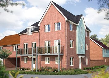 "Thumbnail 3 bedroom semi-detached house for sale in ""The Taunton"" at Hill Farm Close, Newmarket Road, Cringleford, Norwich"