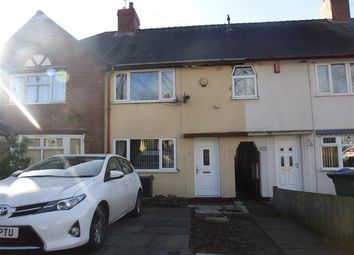 Thumbnail 3 bed terraced house for sale in Walton Road, Wednesbury
