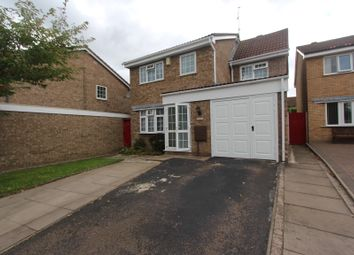 Thumbnail 4 bed detached house to rent in Pendlebury Drive, Leicester