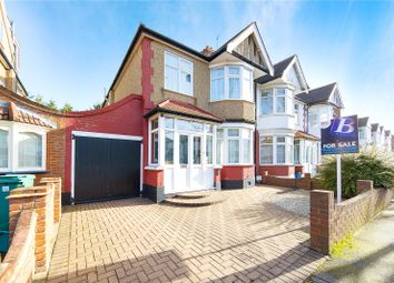 Thumbnail 3 bed semi-detached house for sale in Hatley Avenue, Ilford