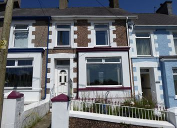 Thumbnail 3 bed terraced house for sale in Church Road, Talysarn, Caernarfon