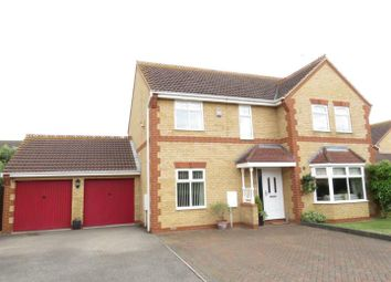 Thumbnail 4 bed detached house for sale in Fraserburgh Way, Orton Southgate, Peterborough