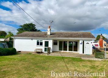 Thumbnail 3 bed detached bungalow for sale in The Promenade, Scratby, Great Yarmouth