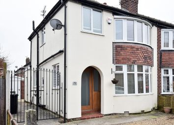 Thumbnail 3 bed semi-detached house to rent in Brunswick Road, Altrincham